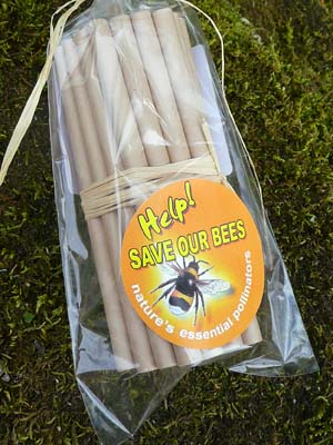 Bee Tubes - 13cm long - 8mm diameter - Pack of 30