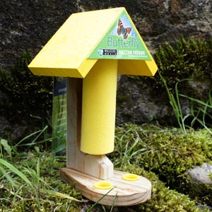 Butterfly Feeding Station (Height 18cm x 11cm Wide)